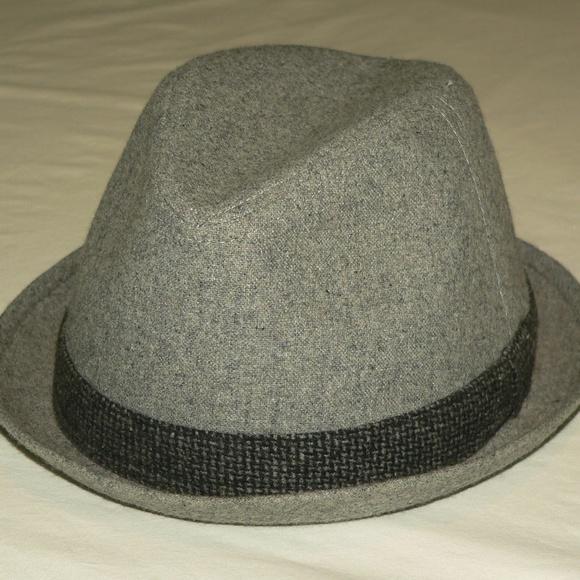 caba090de Free Authority Gray Men's Fedora Hat - Size L/XL